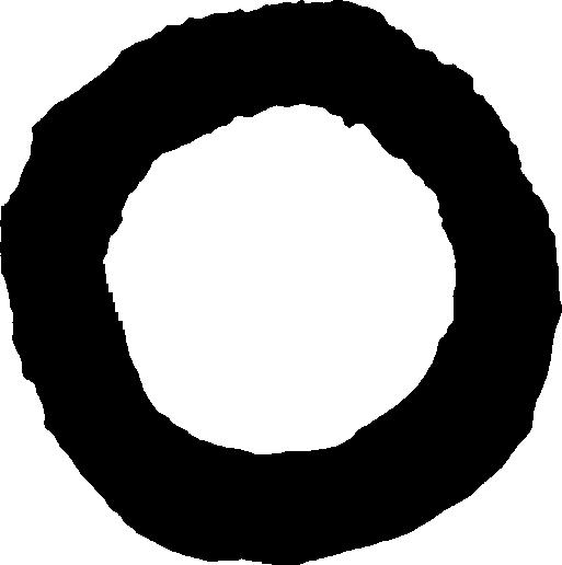 記号 丸のイラスト Circle