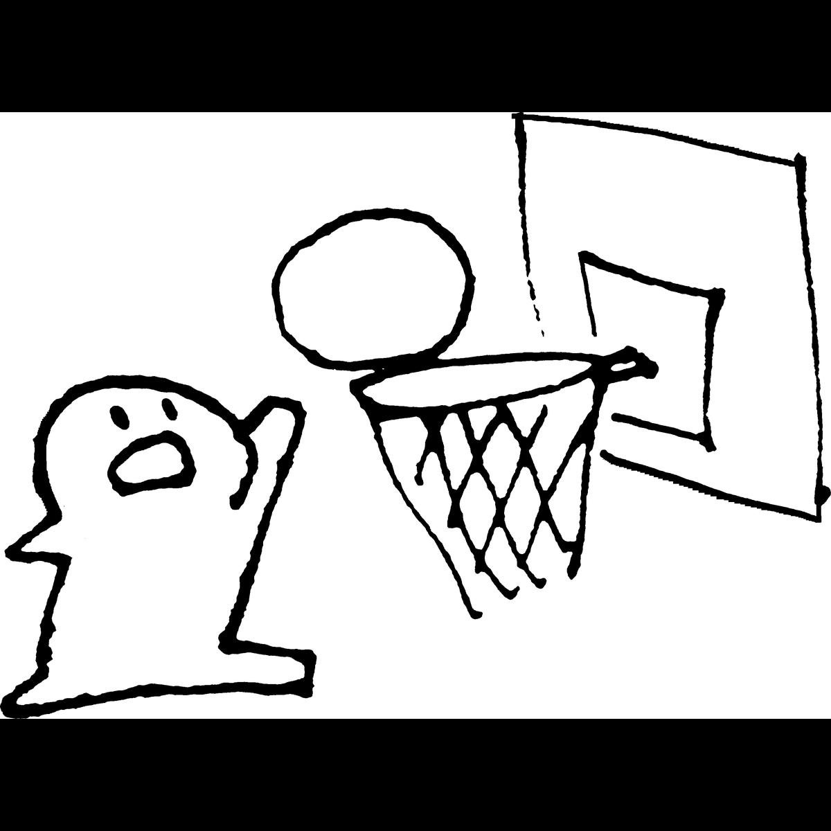 バスケットボールのイラスト Basketball