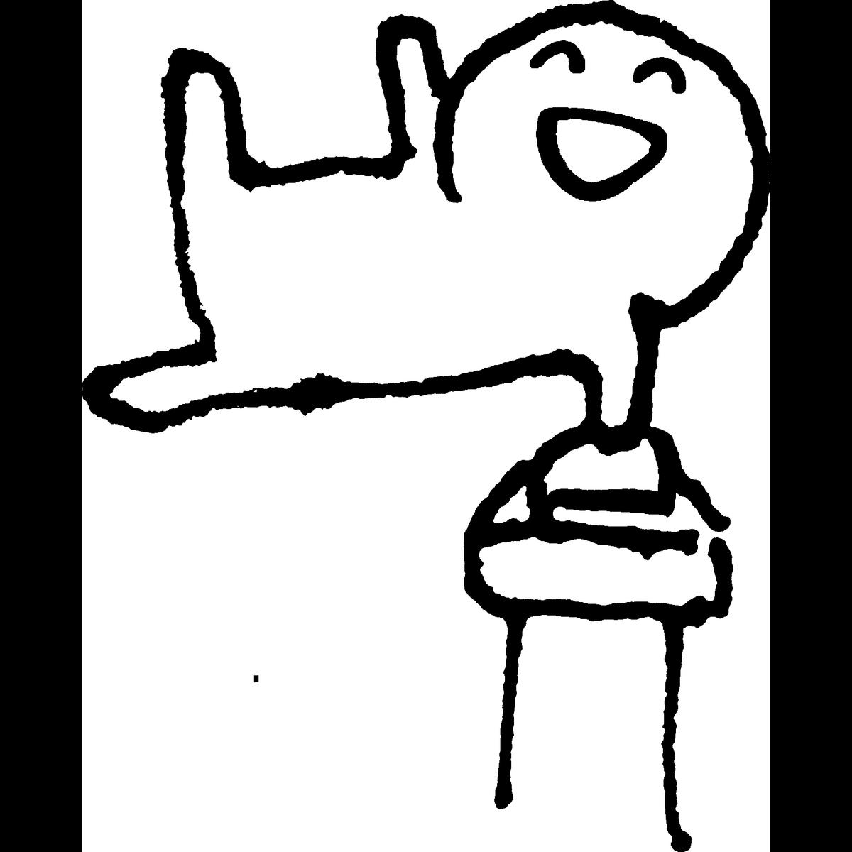 体操(あん馬)のイラスト Pommel-horse GymnasticsArtistic