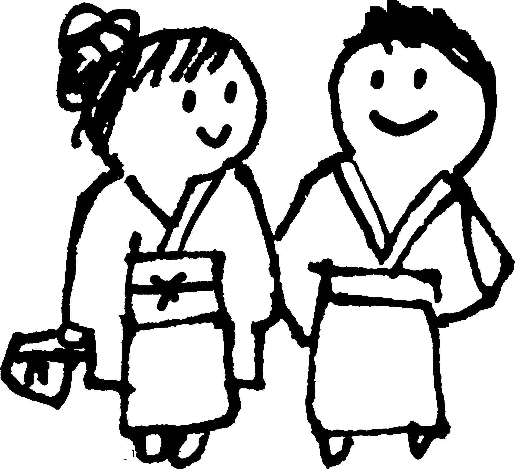 浴衣のカップルA Yukata couple