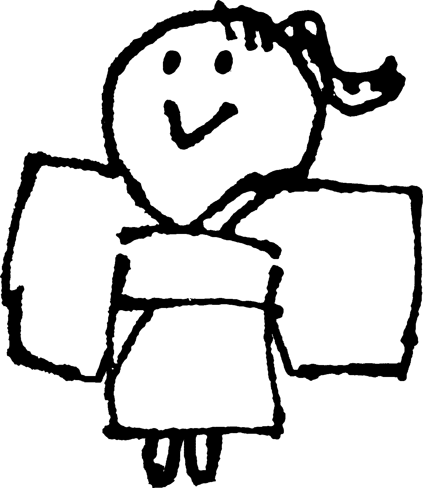 浴衣姿(女)のイラストYukata (woman)